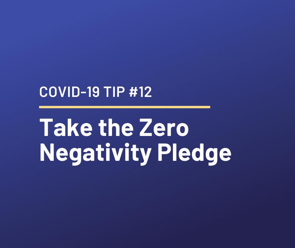 Coronavirus Times – Relationship Tip #12