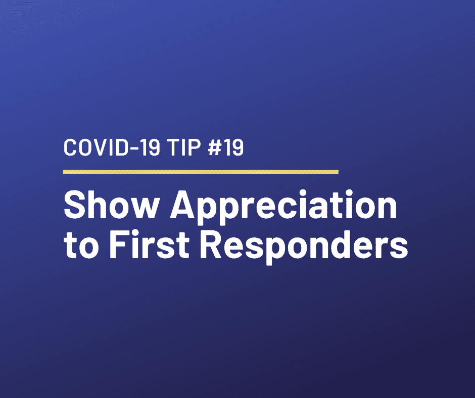 COVID-19 – Relationship Tip #19