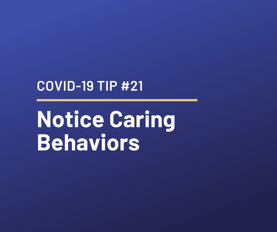 COVID-19 Relationship Tip #21